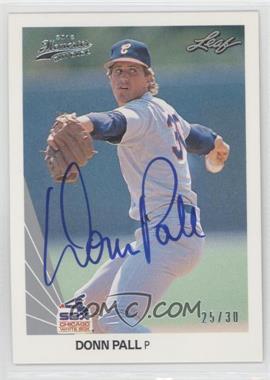 2012 Leaf Memories 1990 Leaf Buy Back [Autographed] #392 - [Missing] /30