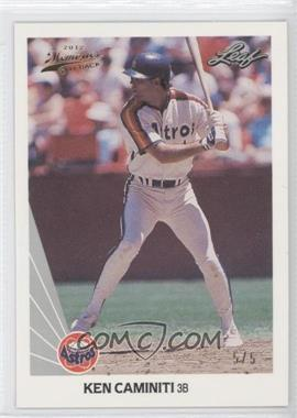 2012 Leaf Memories 1990 Leaf Buy Back Gold Foil #253 - Kevin Cash /5