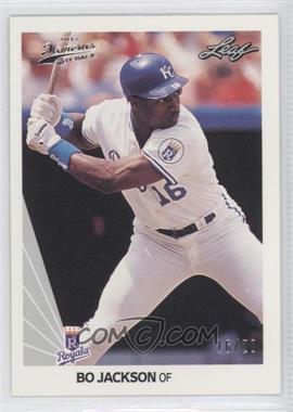 2012 Leaf Memories 1990 Leaf Buy Back Silver Foil #125 - Bo Jackson /20