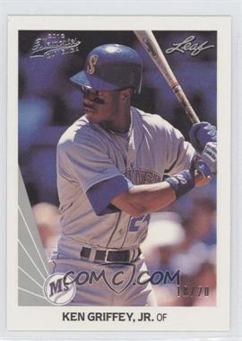 2012 Leaf Memories 1990 Leaf Buy Back Silver Foil #245 - Ken Griffey Jr. /20