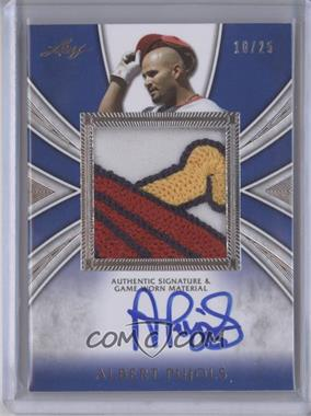 2012 Leaf Metal Draft - [???] #AP-1 - Albert Pujols /25