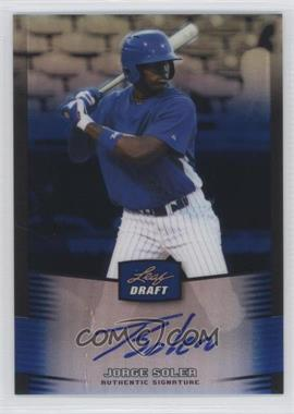 2012 Leaf Metal Draft - [Base] - Blue #BA-JS1 - Jorge Soler /25
