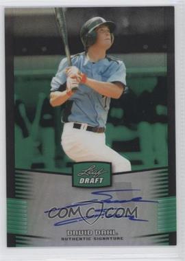 2012 Leaf Metal Draft - [Base] - Green #BA-DD1 - David Dahl /10