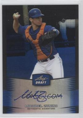 2012 Leaf Metal Draft Blue #BA-MZ1 - Mike Zunino /25