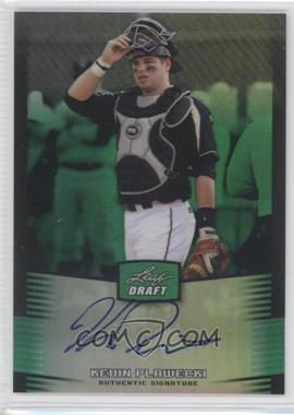 2012 Leaf Metal Draft Green #BA-KP1 - Kevin Plawecki /10