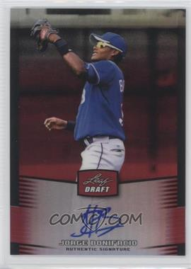 2012 Leaf Metal Draft Red #BA-JB2 - Jorge Bonifacio /5