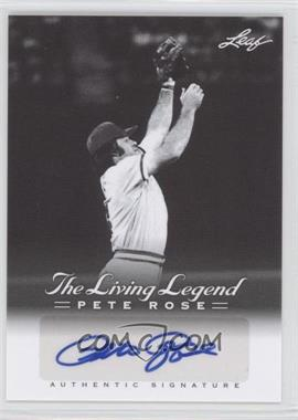 2012 Leaf Pete Rose The Living Legend - Autographs #AU-15 - Pete Rose