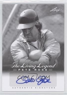 2012 Leaf Pete Rose The Living Legend - Autographs #AU-42 - Pete Rose