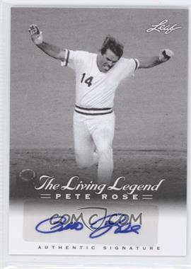 2012 Leaf Pete Rose The Living Legend - Autographs #AU-46 - Pete Rose