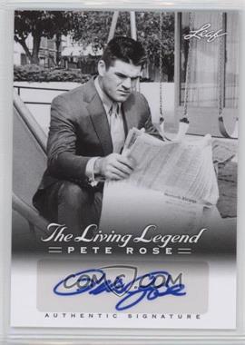 2012 Leaf Pete Rose The Living Legend - Autographs #AU-6 - Pete Rose