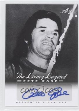 2012 Leaf Pete Rose The Living Legend Autographs #AU-12 - Pete Rose