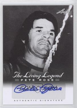 2012 Leaf Pete Rose The Living Legend Autographs #AU-12 - Pete Rose