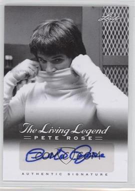 2012 Leaf Pete Rose The Living Legend Autographs #AU-14 - Pete Rose
