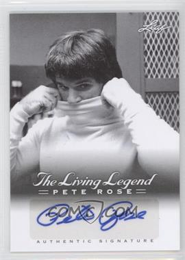 2012 Leaf Pete Rose The Living Legend Autographs #AU-14 - Pete Rose