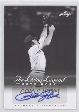 2012 Leaf Pete Rose The Living Legend Autographs #AU-15 - Pete Rose