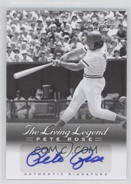 2012 Leaf Pete Rose The Living Legend Autographs #AU-20 - Pete Rose