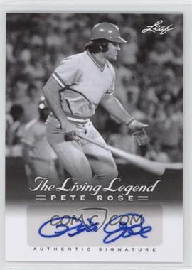 2012 Leaf Pete Rose The Living Legend Autographs #AU-23 - Pete Rose