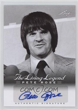 2012 Leaf Pete Rose The Living Legend Autographs #AU-26 - Pete Rose
