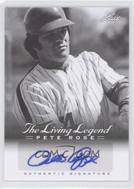 2012 Leaf Pete Rose The Living Legend Autographs #AU-29 - Pete Rose