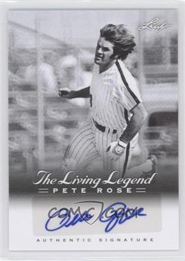 2012 Leaf Pete Rose The Living Legend Autographs #AU-35 - Pete Rose