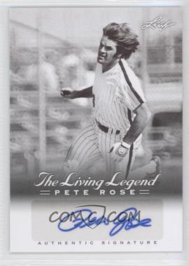 2012 Leaf Pete Rose The Living Legend Autographs #AU-35 - Pete Rose