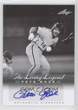 2012 Leaf Pete Rose The Living Legend Autographs #AU-38 - Pete Rose