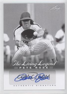 2012 Leaf Pete Rose The Living Legend Autographs #AU-39 - Pete Rose
