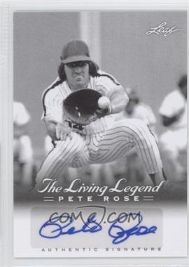 2012 Leaf Pete Rose The Living Legend Autographs #AU-39 - Pete Rose