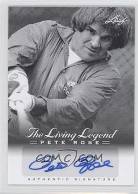 2012 Leaf Pete Rose The Living Legend Autographs #AU-41 - Pete Rose