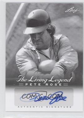 2012 Leaf Pete Rose The Living Legend Autographs #AU-42 - Pete Rose