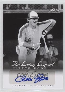2012 Leaf Pete Rose The Living Legend Autographs #AU-45 - Pete Rose