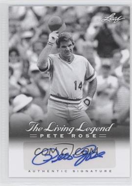 2012 Leaf Pete Rose The Living Legend Autographs #AU-47 - Pete Rose
