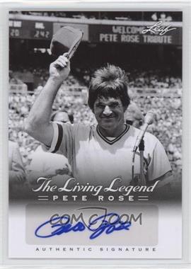 2012 Leaf Pete Rose The Living Legend Autographs #AU-50 - Pete Rose