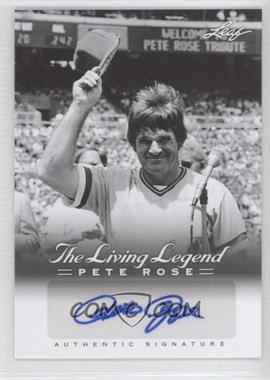 2012 Leaf Pete Rose The Living Legend Autographs #AU-50 - Pete Rose