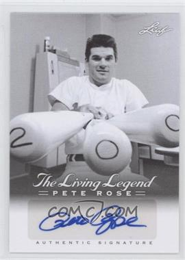 2012 Leaf Pete Rose The Living Legend Autographs #AU-7 - Pete Rose