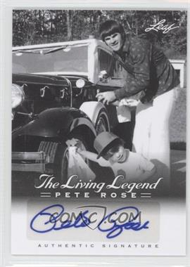 2012 Leaf Pete Rose The Living Legend Autographs #AU-8 - Pete Rose