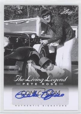 2012 Leaf Pete Rose The Living Legend Autographs #AU-8 - Pete Rose