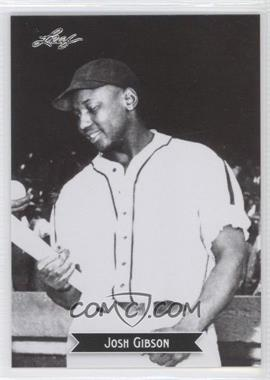 2012 Leaf Sports Icons Josh Gibson #6 - Johnny Giavotella