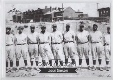 2012 Leaf Sports Icons Josh Gibson #7 - Johnny Giavotella