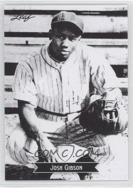 2012 Leaf Sports Icons Josh Gibson #8 - Johnny Giavotella