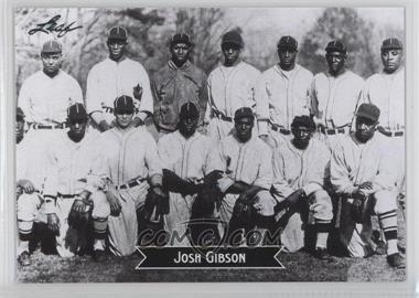 2012 Leaf Sports Icons: The Search for Josh Gibson #5 - Josh Gibson