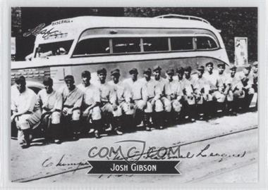 2012 Leaf Sports Icons: The Search for Josh Gibson #9 - Josh Gibson
