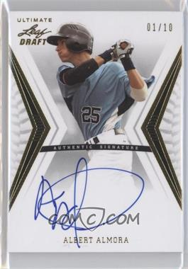 2012 Leaf Ultimate Draft - Base Autographs - Gold #BA-AA1 - Al Alburquerque /10