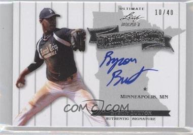 2012 Leaf Ultimate Draft - Heading to the Show #HS-BB1 - Byron Buxton /40
