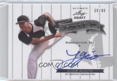 2012 Leaf Ultimate Draft [???] #HS-1 - Lucas Giolito /40