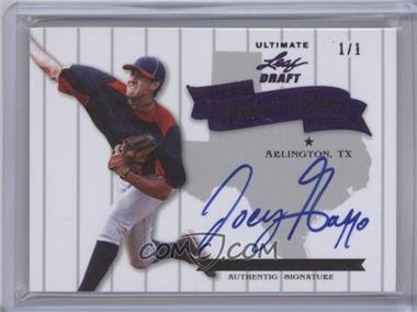 2012 Leaf Ultimate Draft Heading to the Show Purple #HS-1 - Joey Gallo /1