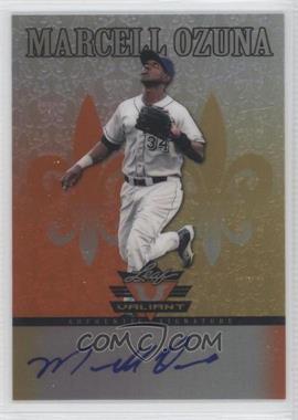 2012 Leaf Valiant - [Base] - Orange #VA-MO2 - Marcell Ozuna /99