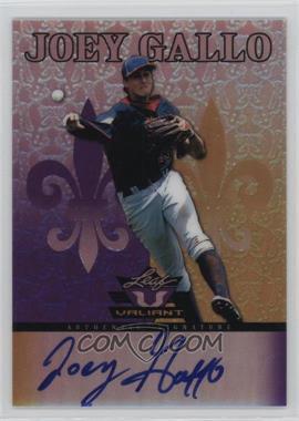 2012 Leaf Valiant - [Base] - Purple #VA-JG1 - Joey Gallo /25
