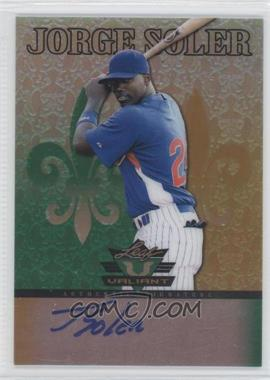 2012 Leaf Valiant - [Base] #VA-JS1 - Jorge Soler