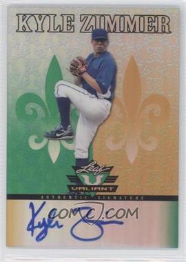 2012 Leaf Valiant - [Base] #VA-KZ1 - Kyle Zimmer